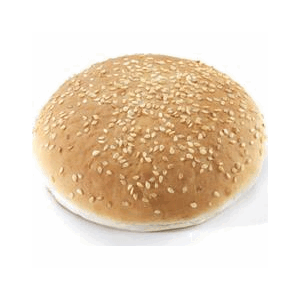 HAMBURGER BRØD 90G