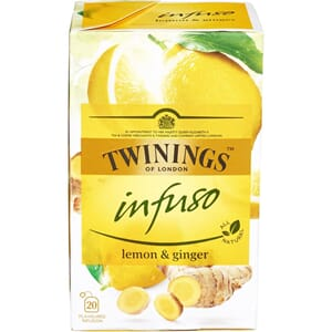 INFUSO LEMON & GINGER 20BG