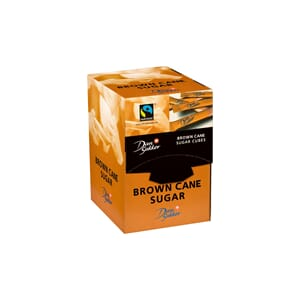 SUKKER STICKS BRUN, DISPLAY 200X4G