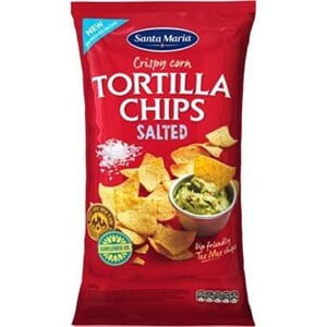 TORTILLA CHIPS SALT 475G