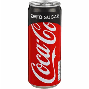 COCA-COLA ZERO SLEEK BOKS 24X33CL