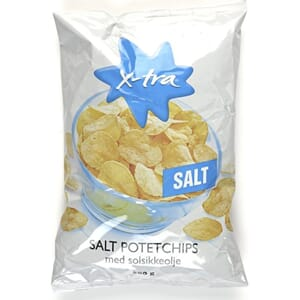 POTETCHIPS SALT 400G