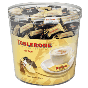 TOBLERONE SJOKOLADE MIX 904G