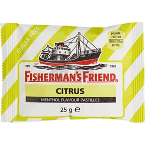 FISHERMAN S FRIEND CITRUS STRIPE 25G