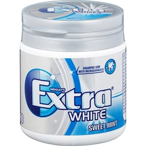 EXTRA WHITE SWEETMINT 6PK 60P 84G