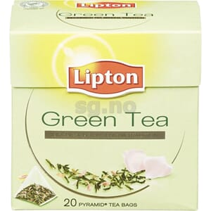 GREEN TEA 20 POSER LIPTON