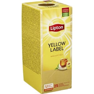YELLOW LABEL TE LIPTON 25BG