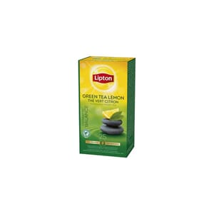 LIPTON GREEN LEMON 25STK